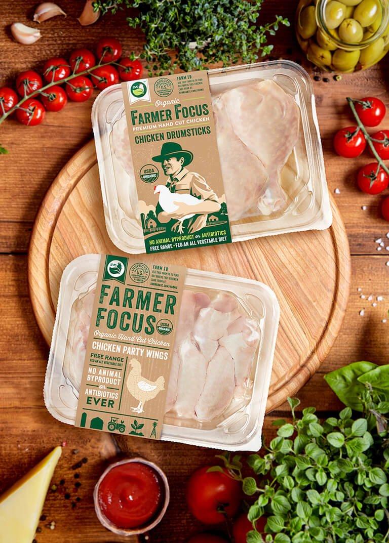 JL Design Group Farmer Focus organic packaging designs